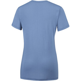 Columbia Lava Lake Shortsleeve Tee Women blue dusk